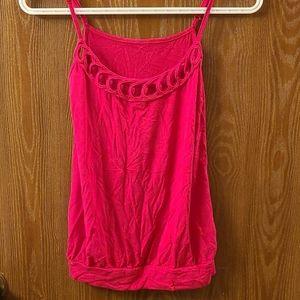 SALE - 💜3/$15 - Pink tank top